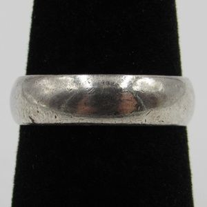 Jewelry - Vintage Size 6 Sterling Rustic Simple Style Ring